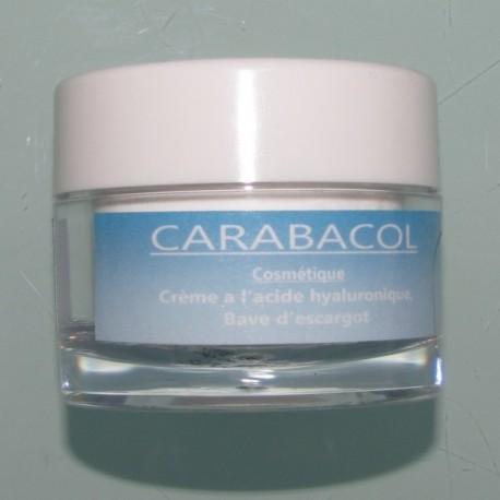 Crème à l'acide hyaluronique Carabacol 50ml