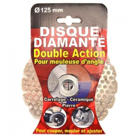 Disque diamanté double action 115